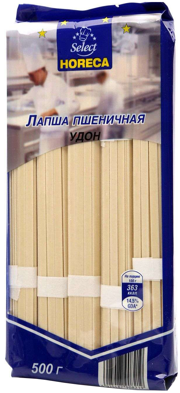 Лапша Horeca удон пшеничная 500 г фото