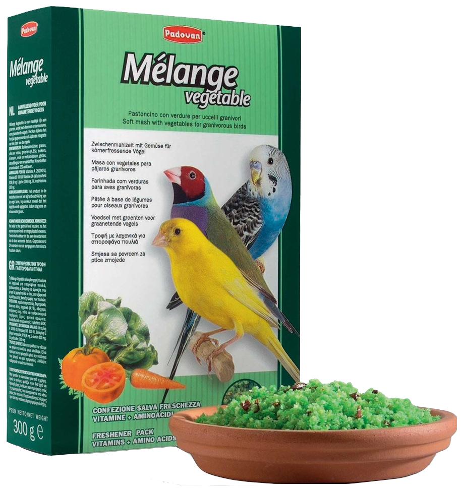 Корм для птиц Padovan, семена, овощи, 1шт,