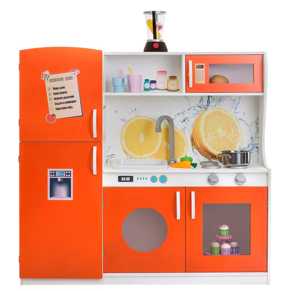 Купить Игрушечная кухня Фиори Аранцио PAREMO PK218-03, Детская кухня