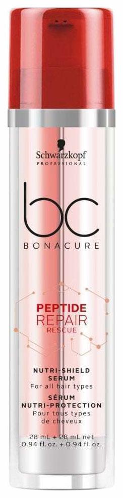 Сыворотка Schwarzkopf BC Bonacure Peptide Repair Rescue питательная 2*28 мл