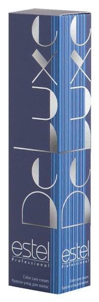 Краска для волос Estel Professional De Luxe 6/7 Темно-русый коричневый 60 мл
