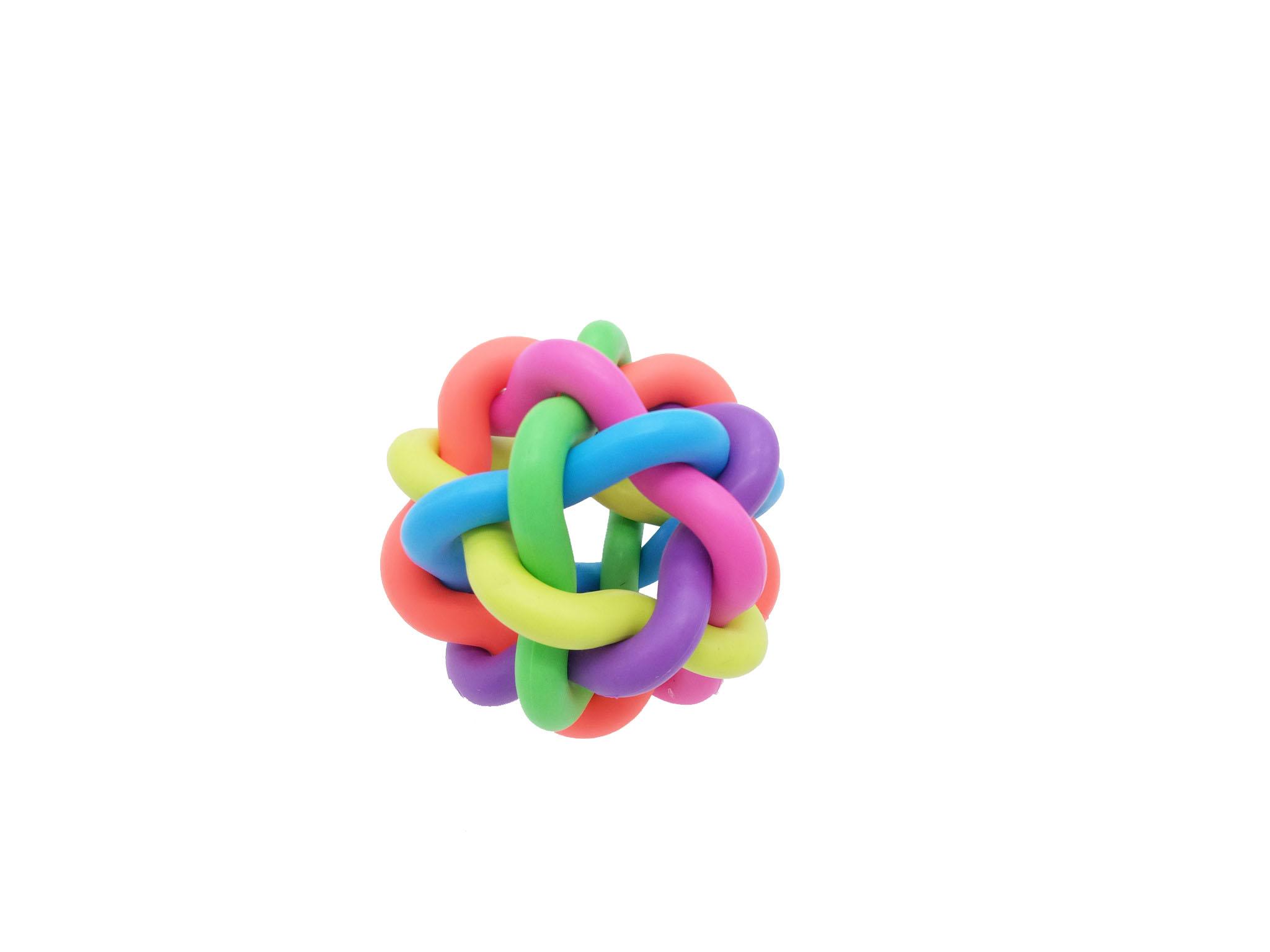 Игрушка для собак HomePet Плетеный мяч 10,5 см