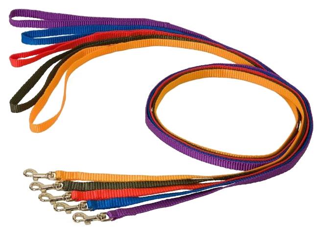 Поводок Дарэлл 021010 капроновый в ассортименте для собак 10мм х 1,2м по цене 54