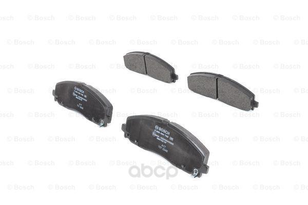 Колодки тормозные дисковые комплект передние Bosch 0986494769 фото