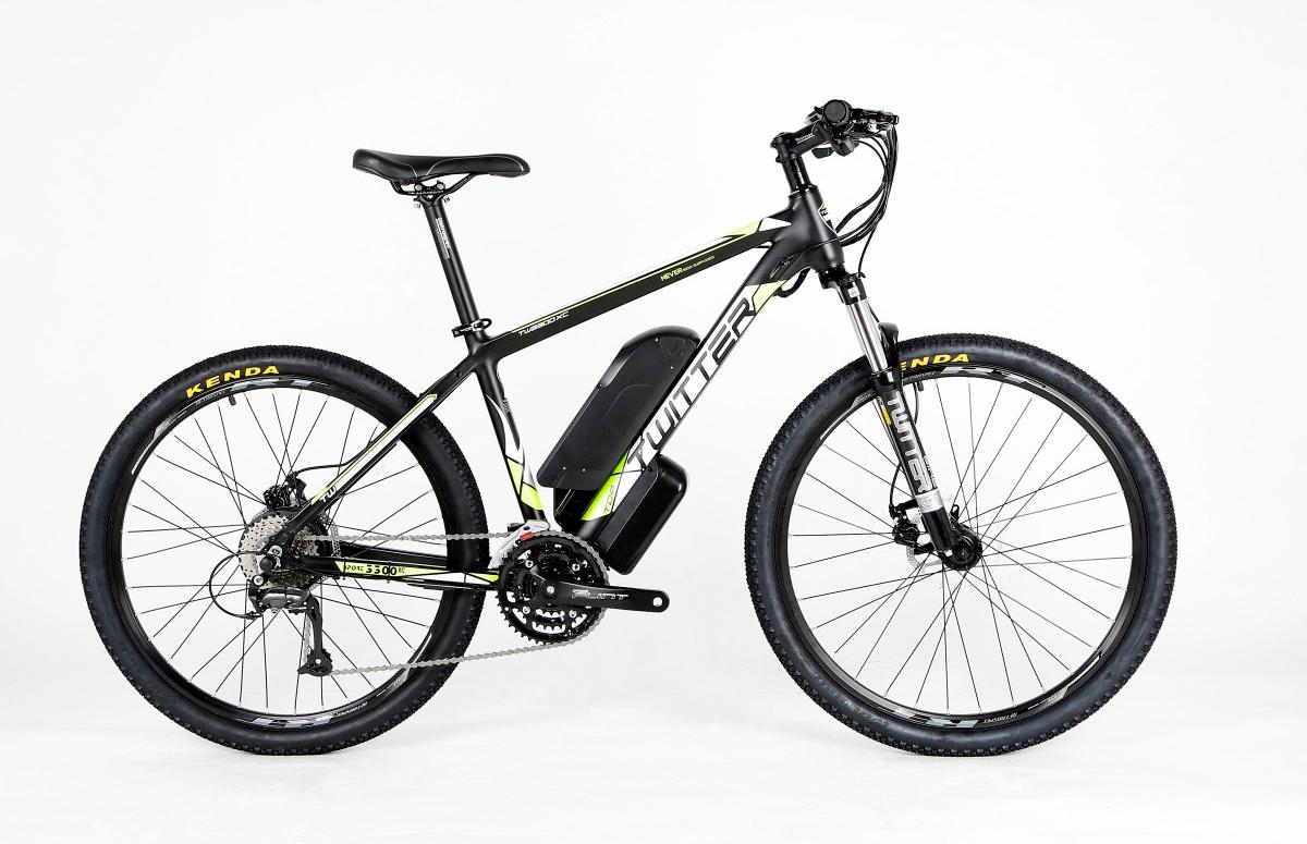 Электровелосипед Twitter VS7.0-ER-17 черно-красный