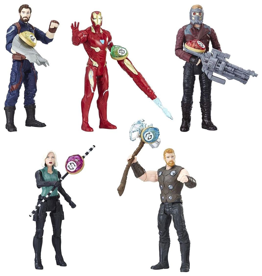 Купить Фигурка мстителя Hasbro Avengers movie с камнем E0605EU4, Игровые наборы