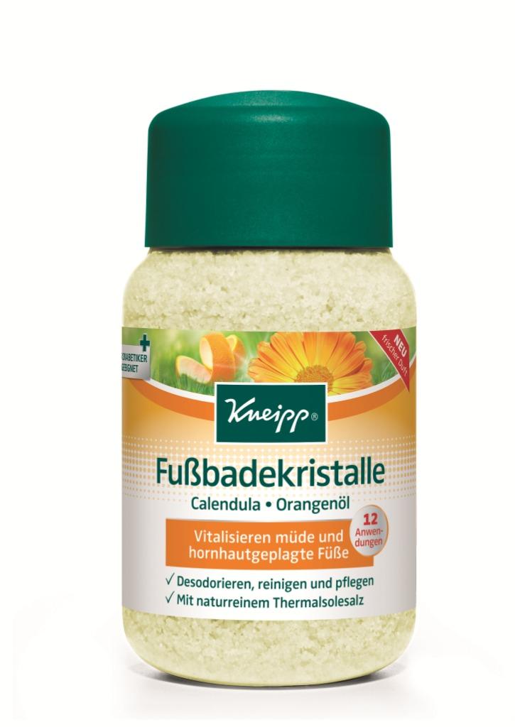 Солевые ванны для ног Kneipp с Календулой и маслом Апельсина