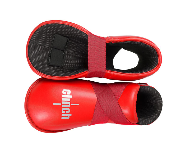 Защита стопы Clinch Safety Foot Kick красная