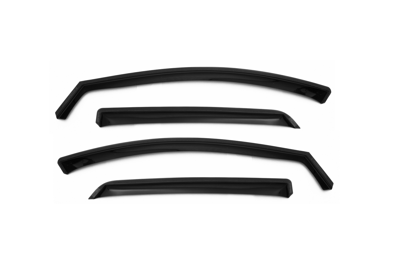 Дефлекторы окон Chromex для Nissan X-Trail от 2014, хром, 4 шт