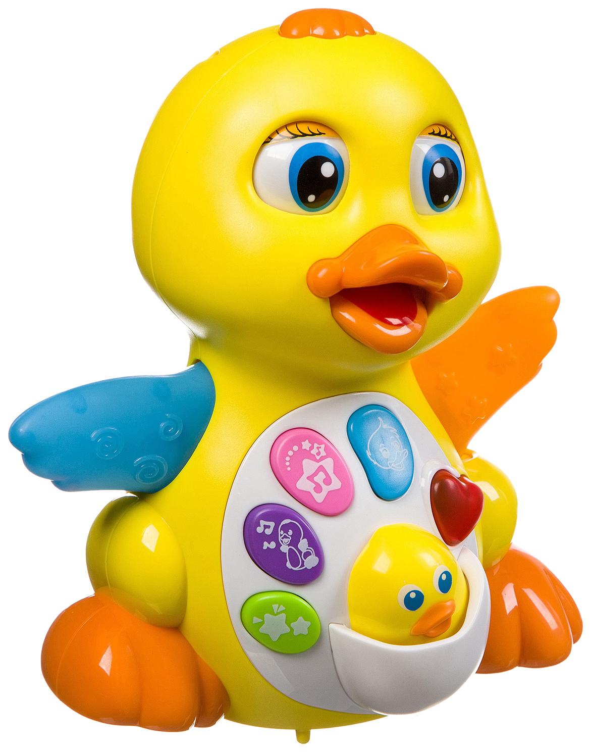 Интерактивная игрушка Наша игрушка Расти, малыш, Радостная Утя от 1 года фото