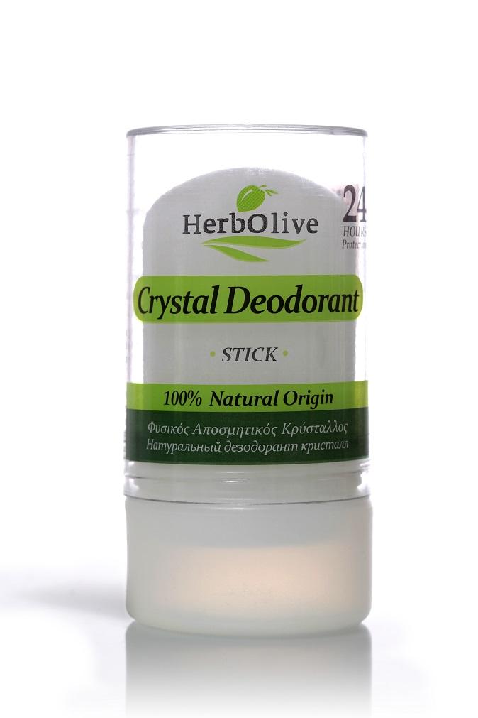 Дезодорант для тела Herbolive Кристалл натуральный стик