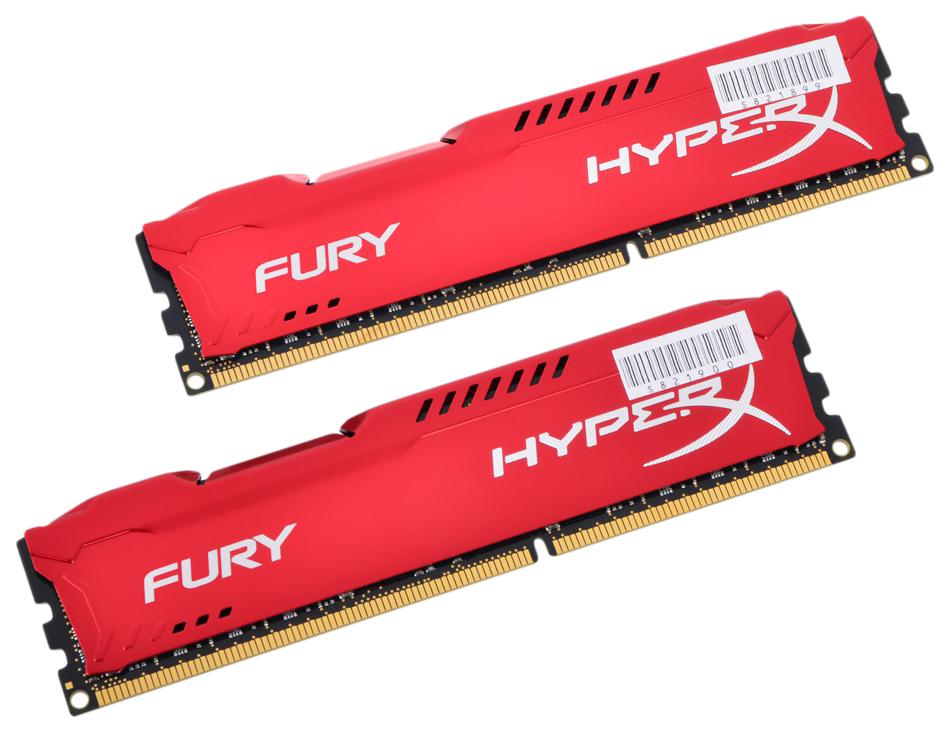 Оперативная память HyperX FURY HX318C10FRK2/16 фото