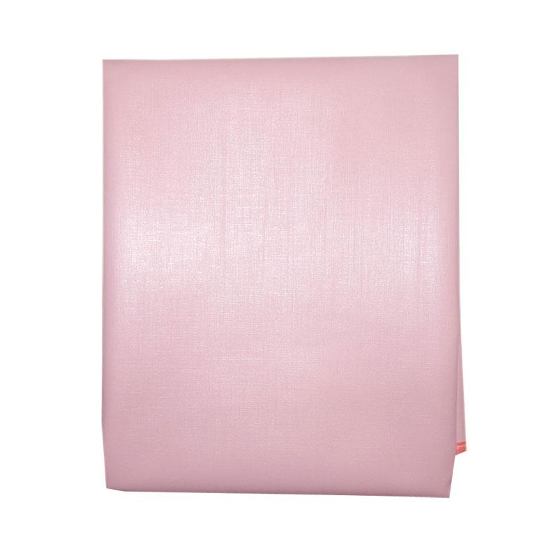 Наматрасник детский Папитто непромокаемый ПВХ 70х60 Розовый 0050