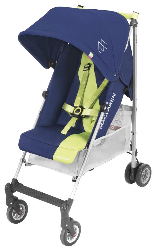 Купить Прогулочная коляска Maclaren Triumph Medieval Blue/Limeade, Прогулочные коляски