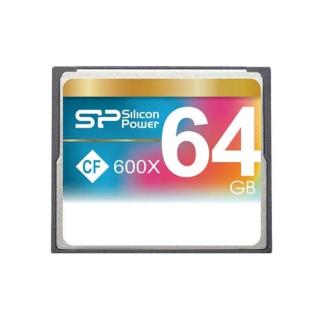 Карта памяти Silicon Power Compact Flash 64GB