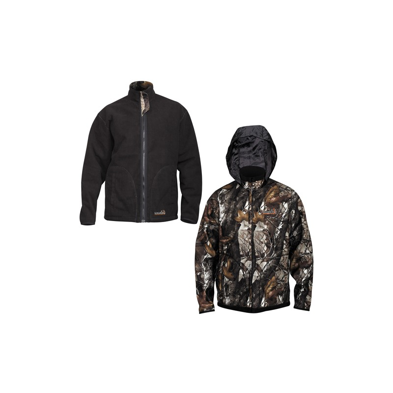 Куртка Norfin Hunting Thunder, staidness black, XL INT фото