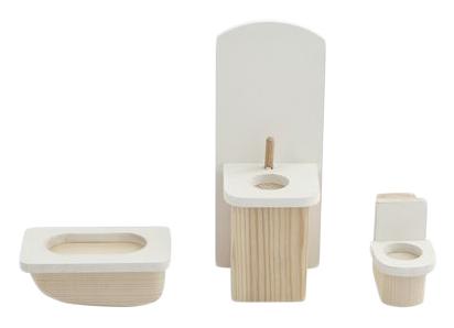 Набор мебели для мини-кукол – Ванная комната PAREMO PDA517-01 фото