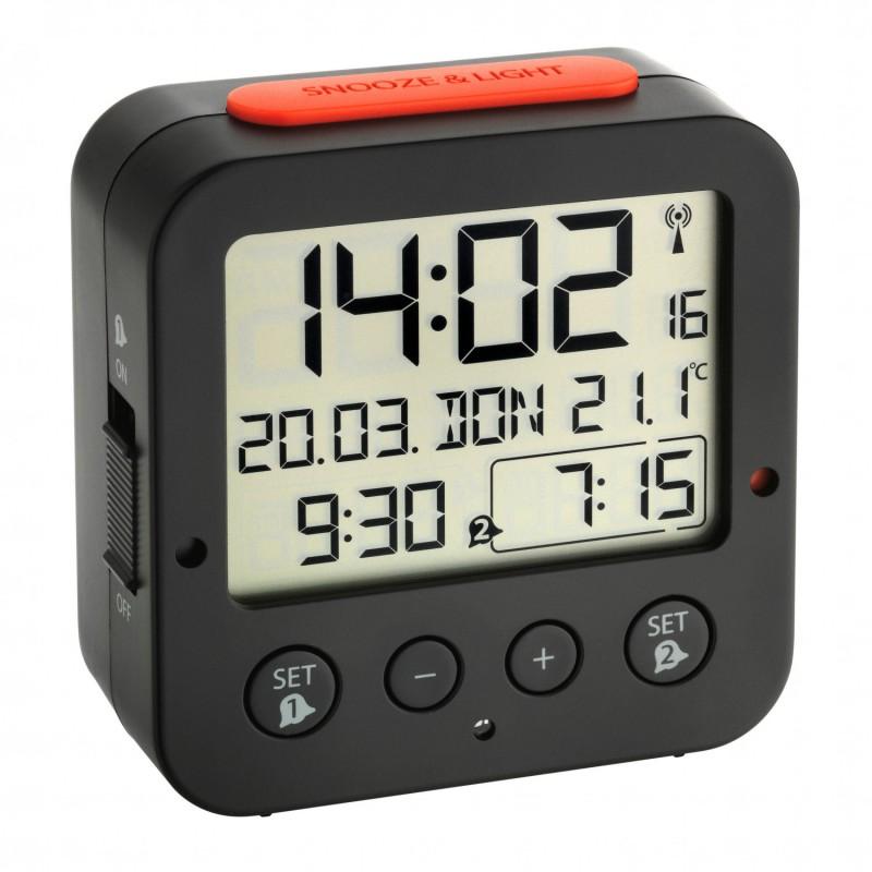 Часы будильник TFA 60.2528.02