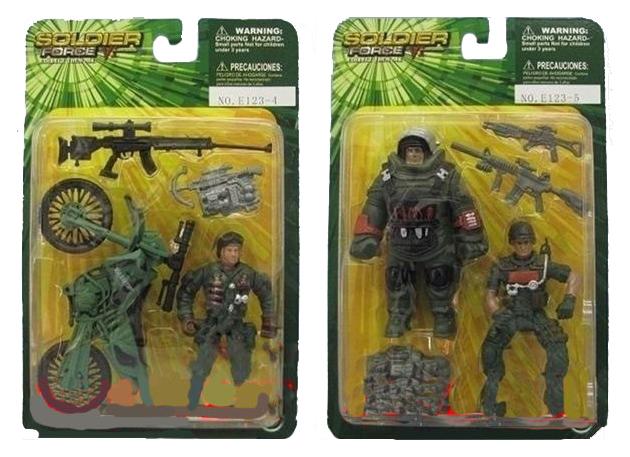 Игровой набор Солдатики Soldier Force E123-4/-5 в ассортименте