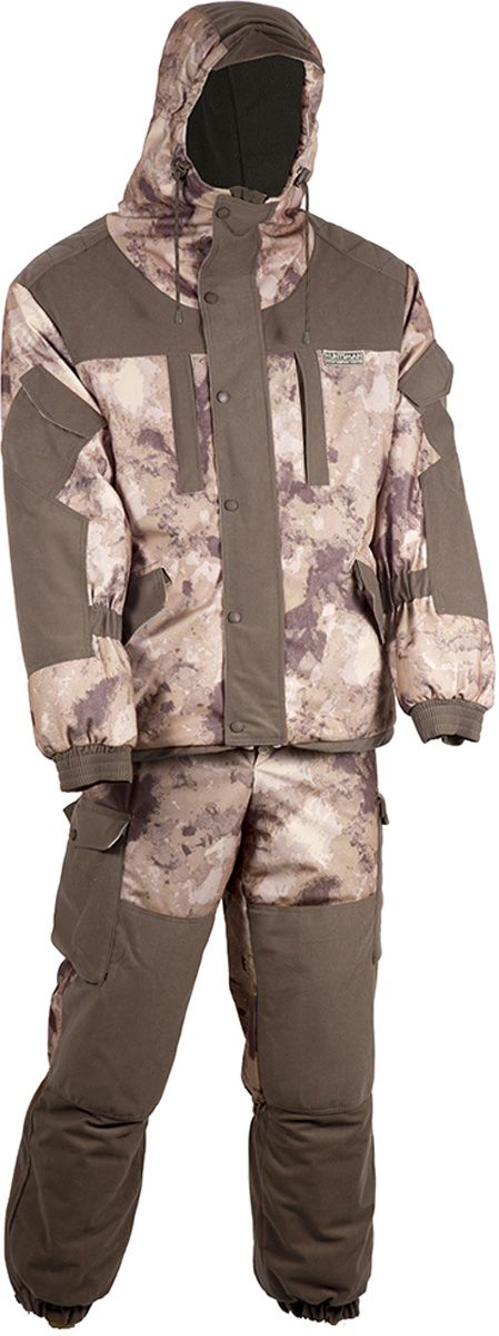 Костюм для рыбалки Huntsman Ангара, туман, 48-50 RU, 172-180 см
