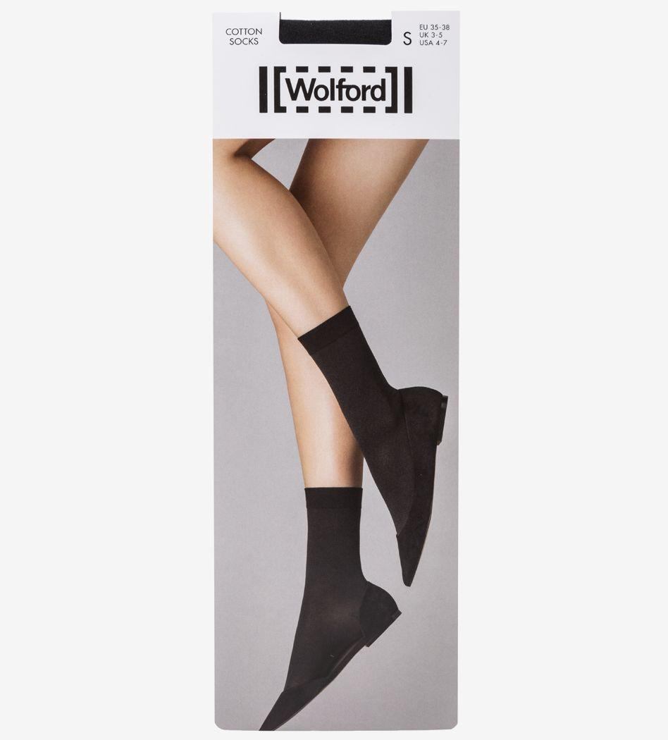 Носки Wolford 450197005 черный 35 фото