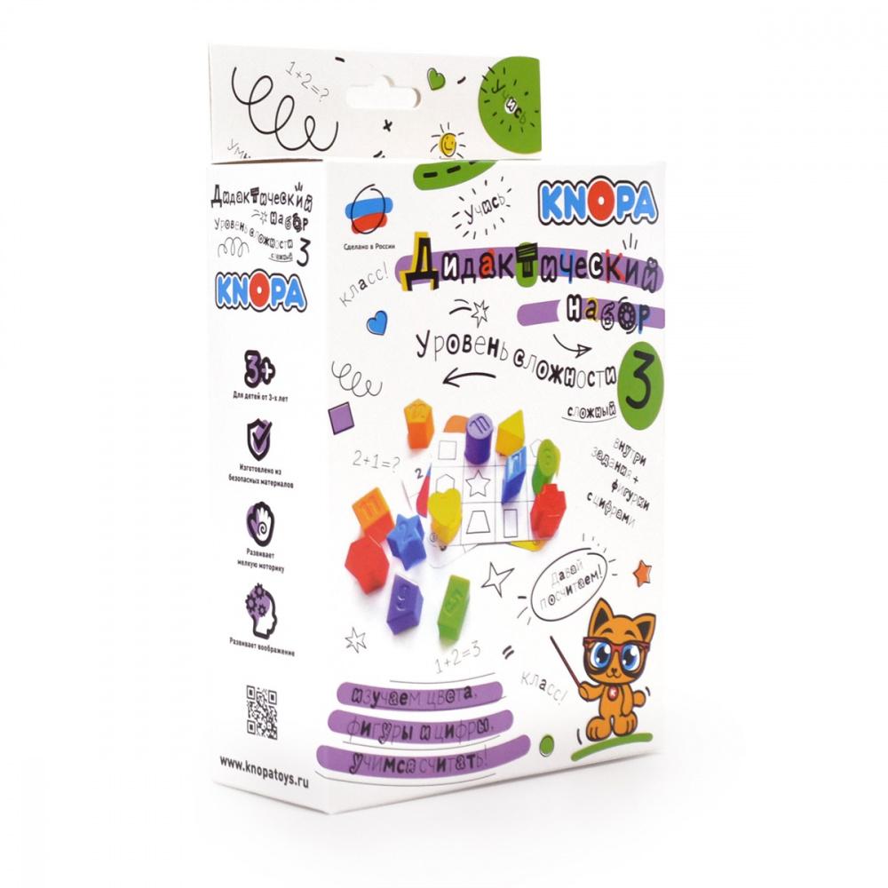 картинка Развивающая игрушка Knopa Дидактический набор. Уровень 3 87038 от магазина Bebikam.ru