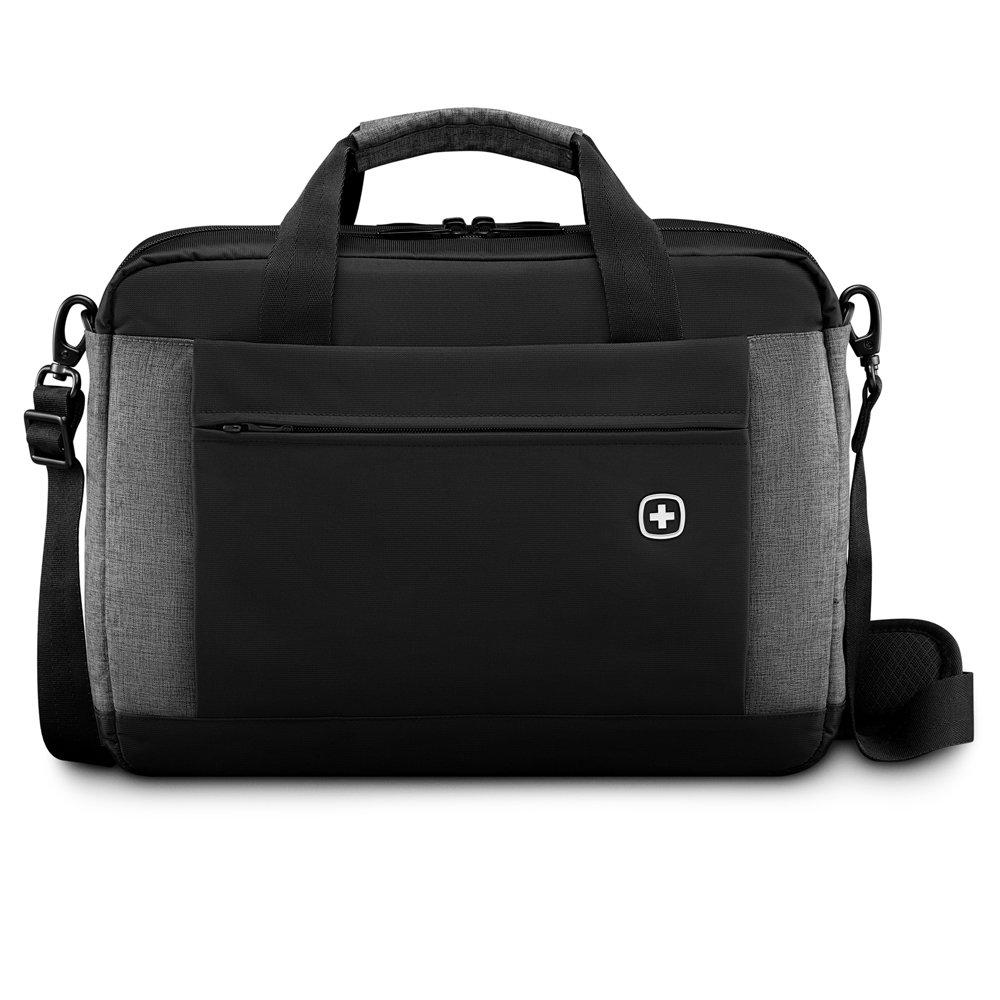 Портфель WENGER Underground 601057 черный/серый 9 л фото