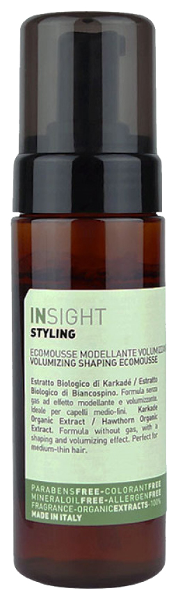 Мусс для волос Insight Professional Styling Volumizing Modelling