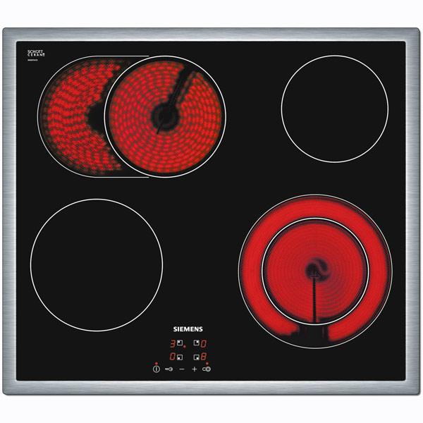 Встраиваемая варочная панель электрическая Siemens ET645HN17E Black