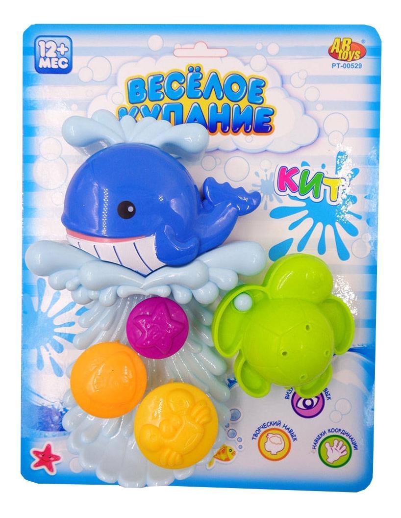 Купить Кит-мельница, Веселое купание. кит-мельница для ванной pt-00529, ABtoys, Игрушки для купания малыша