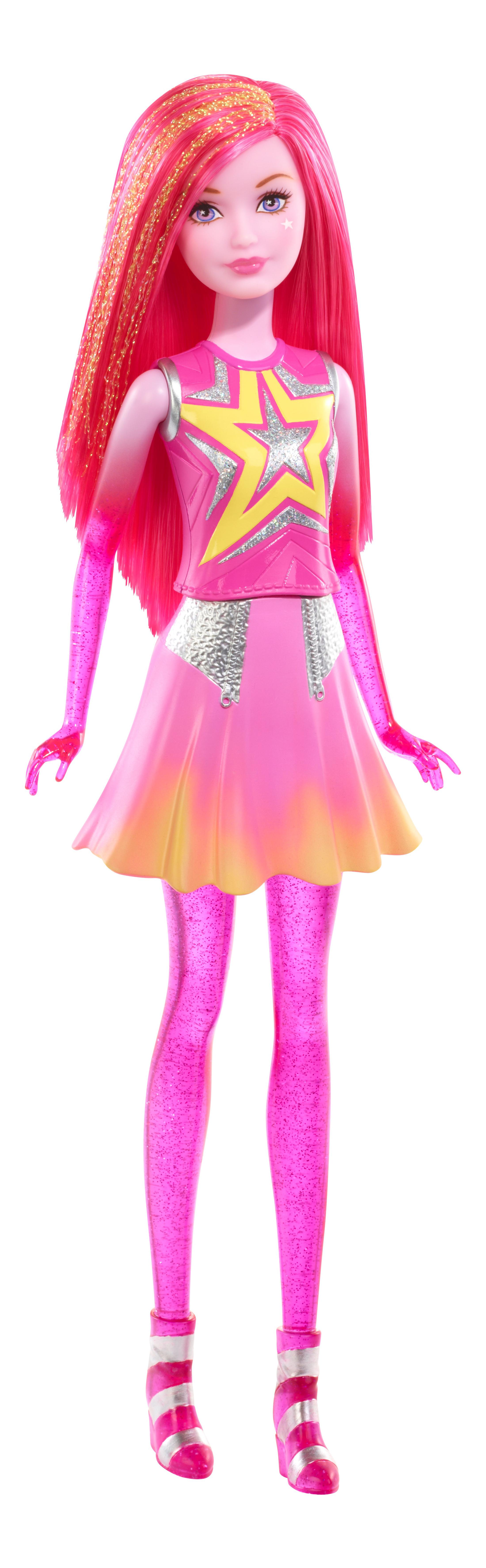 Купить Star Light Adventure Pink Galaxy Doll, Кукла Barbie из серии Barbie и космическое приключение DLT27 DLT28, Куклы Barbie