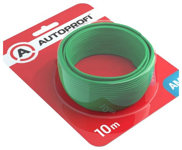 Кабель автомобильный Autoprofi 1.3 мм 16AWG Зеленый