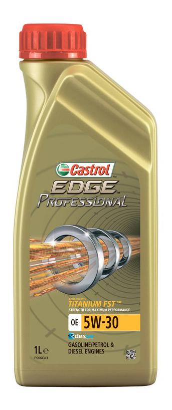 Моторное масло Castrol Edge Professional OE Titanium FST 5W-30 1л