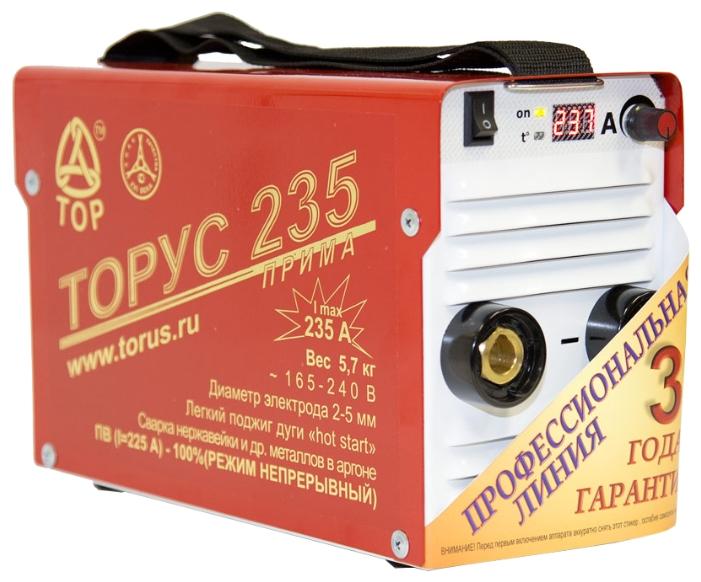 Сварочный инвертор ТОРУС 235 Прима