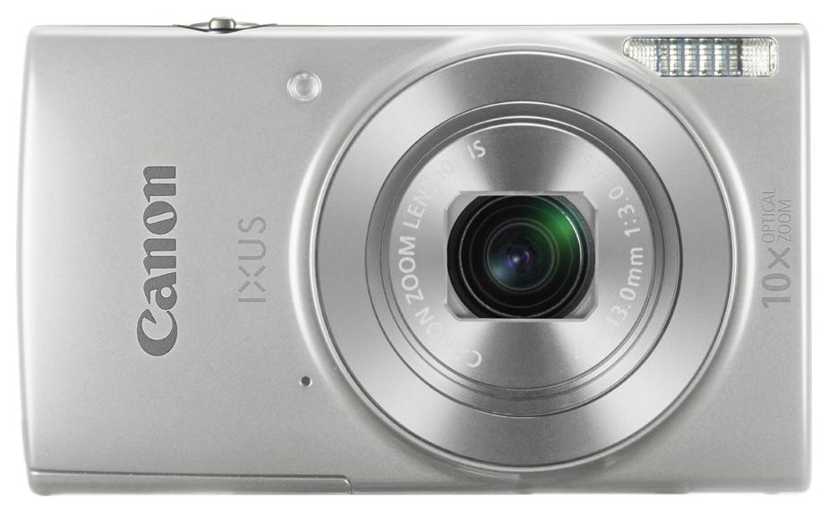 Фотоаппарат цифровой компактный Canon Digital Ixus 190 Silver