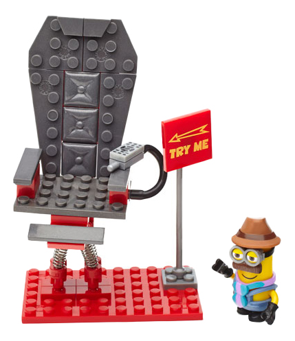 Конструктор пластиковый Mattel inc Mega Bloks Шаткий стул фото