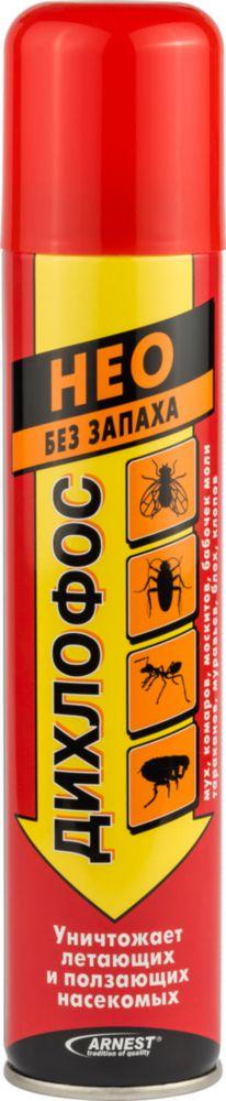 Дихлофос от насекомых Arnest нео без запаха