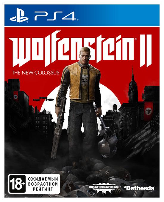 Игра Wolfenstein II: The New Colossus для PlayStation 4 фото