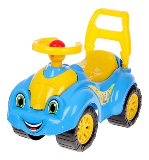 Купить 3510, Каталка детская Інтелком ТехноК Сине-желтый, Машинки каталки