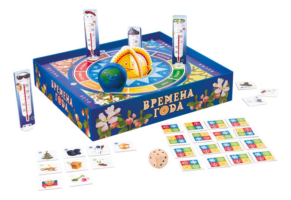 Купить Семейная настольная игра STEP Puzzle Времена года, Семейные настольные игры