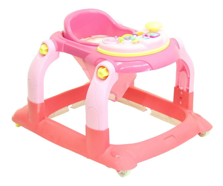 Купить Ходунки детские Тополь Selby BS-511 (1) розовый/светло-розовый