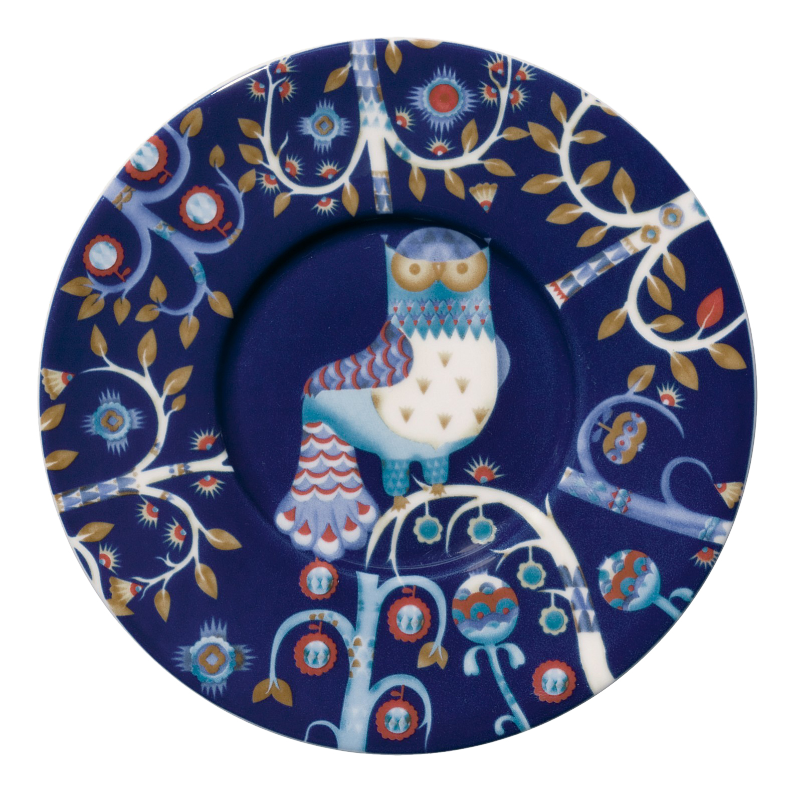 Блюдце Iittala Taika 15 см синее