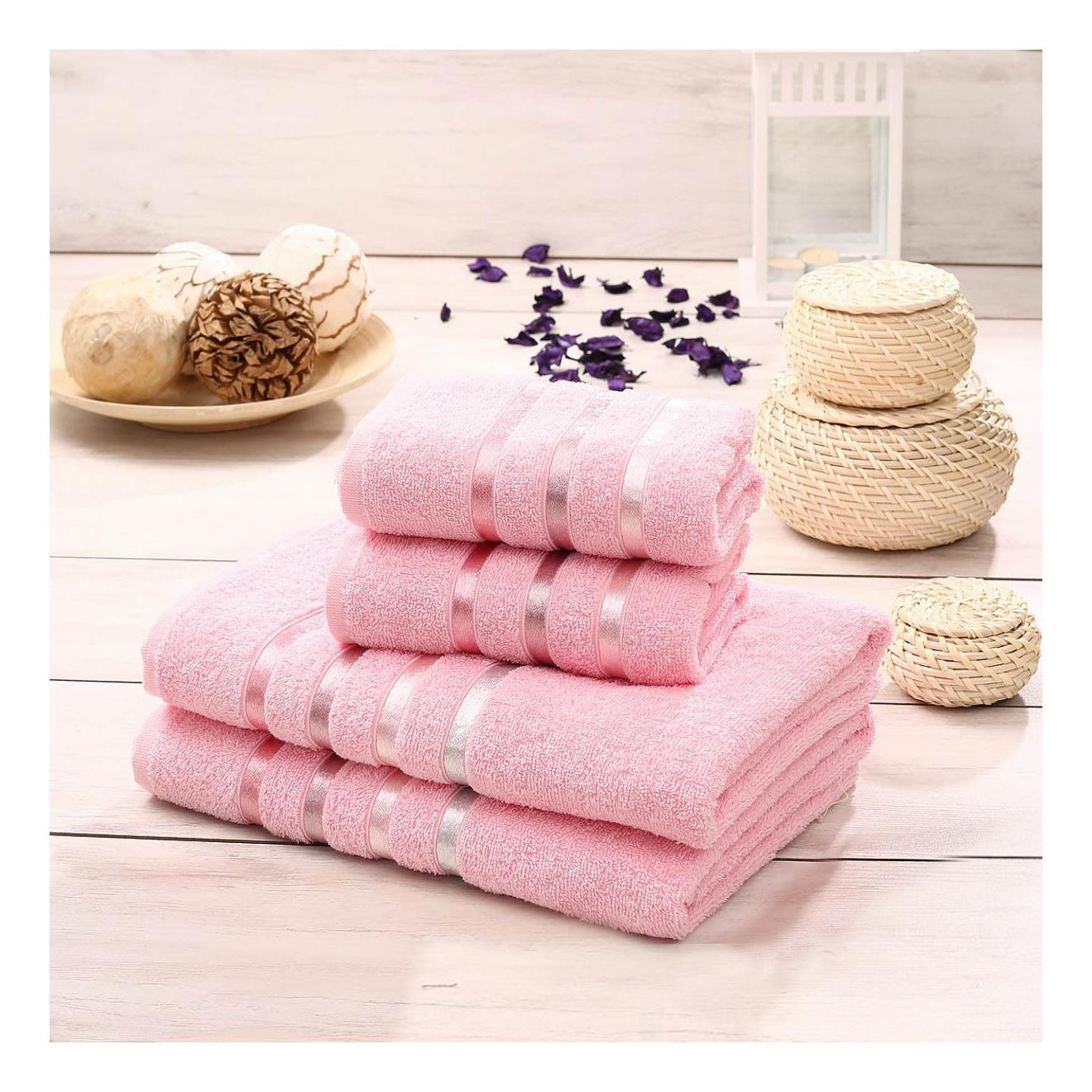 Набор полотенец KARNA розовый