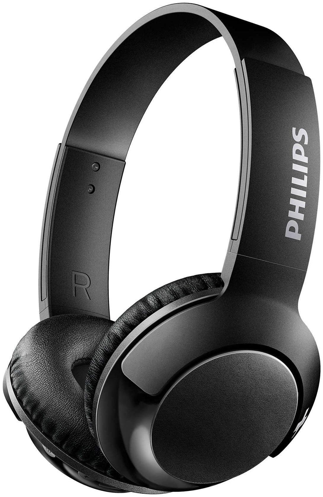 Беспроводные наушники Philips Bass+ SHB3075 Black  - купить со скидкой