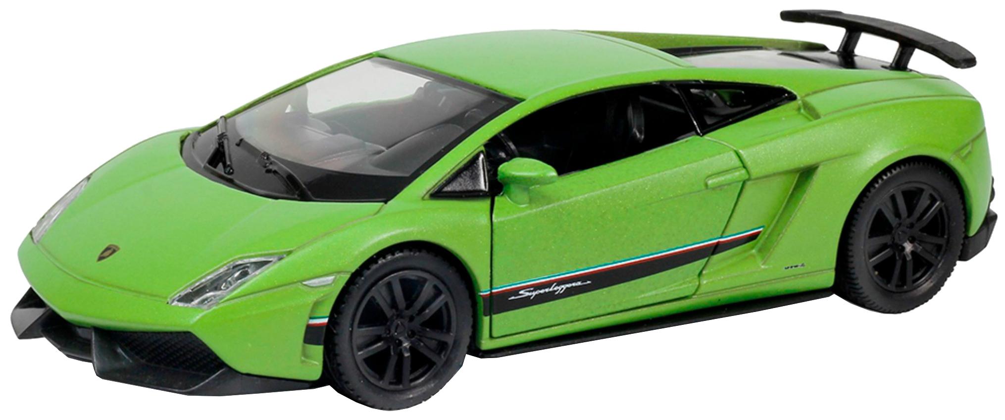 Коллекционная модель машина металлическая Rmz City 1:64 Lamborghini Gallardo Lp570-4