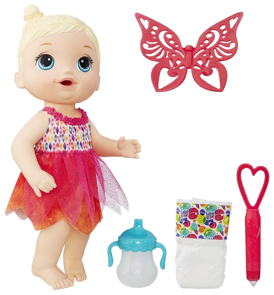 Интерактивная кукла Baby Alive Hasbro Малышка-фея B9723