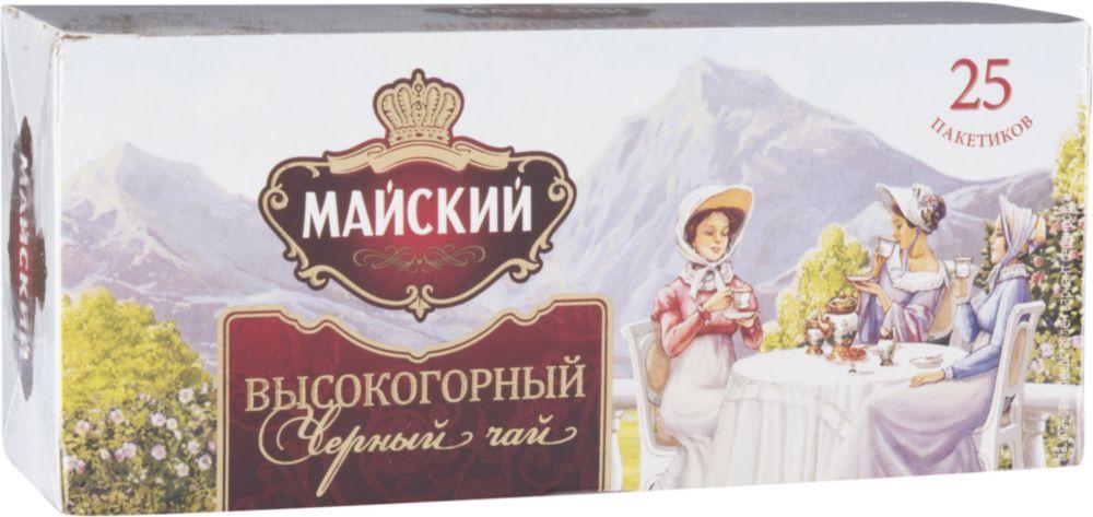 Чай черный Майский высокогорный 25 пакетиков
