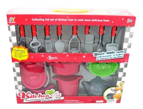 Купить Набор посуды игрушечный Shantou Gepai B2011-3, Игрушечная посуда