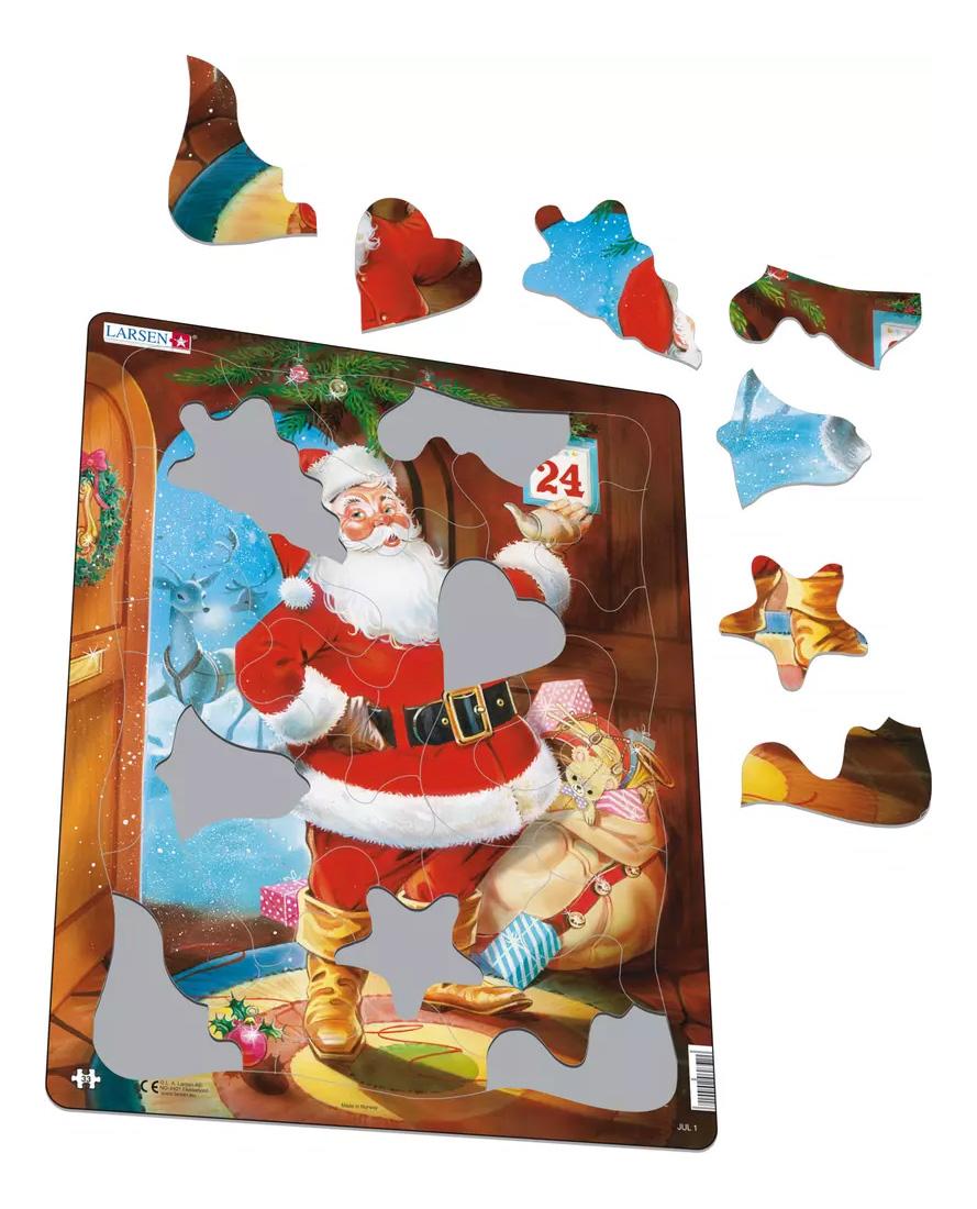 Купить Пазл Larsen Санта-Клаус, Пазлы