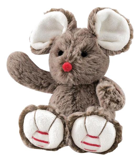 Руж. Мышка шоколадная 19 см, Мягкая игрушка Kaloo Руж Мышка Шоколадная 19 см K963519, Мягкие игрушки животные  - купить со скидкой